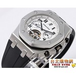 audemars piguet 爱彼 royal oak offshore tourbillon 2010年新款手錶