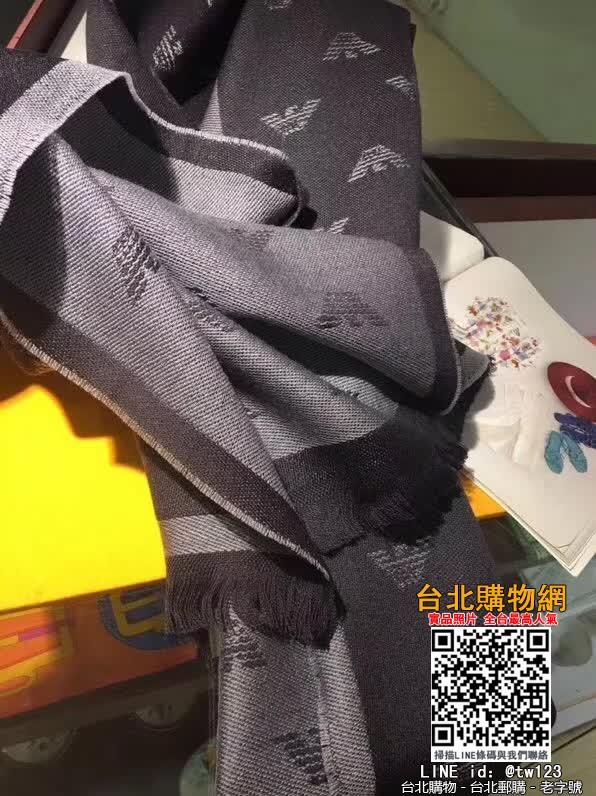 armani 2019圍巾,armani 絲巾,armani 名牌商品!