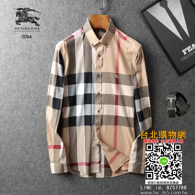 burberry 2019 長袖襯衫,burberry 男款襯衣,burberry 男生襯衫!
