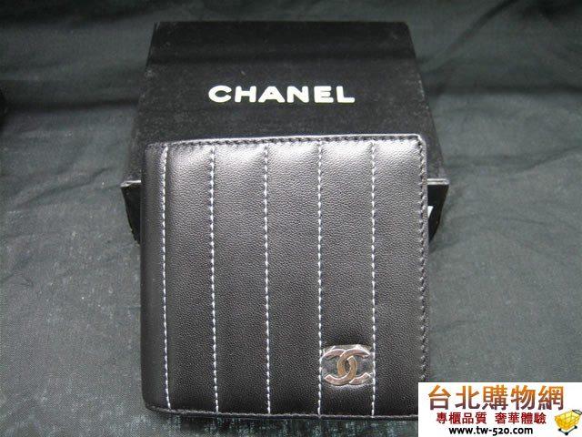 chanel皮夾 cc_843   個性帥氣精緻實用短夾