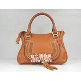 63102橙色摔紋牛皮 chloe 2011秋冬新款包包,chloe名牌包包2012台灣專賣店. (女款)