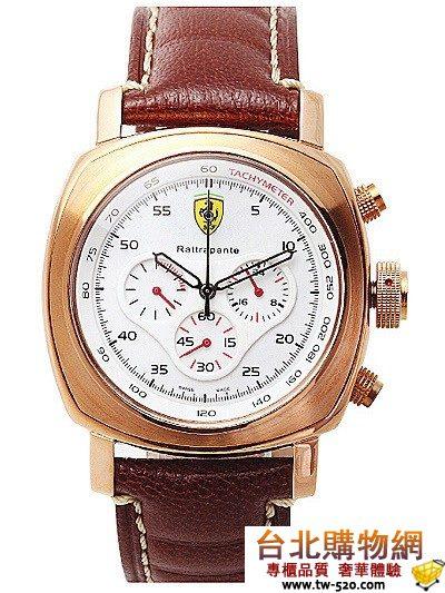 Ferrari 法拉利 Rattrapante 2010年新款手錶