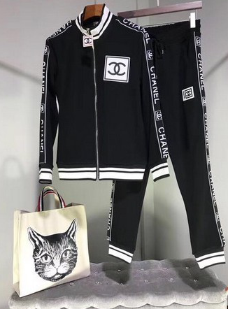 chanel 2019 長袖套裝,chanel 運動套裝,chanel 休閒套裝!