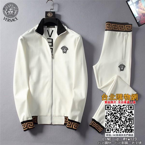 versace2019衣服新品,versace 加厚套装