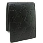 gucci 黑色壓花皮夾 g146228