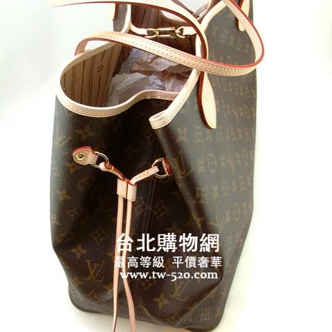 lv neverfull系列經典花紋縮口袋肩背包m40157 (大)|我愛黑澀會美眉包包