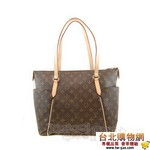 lv【m56689】totally monogram帆布手提肩背包(中)