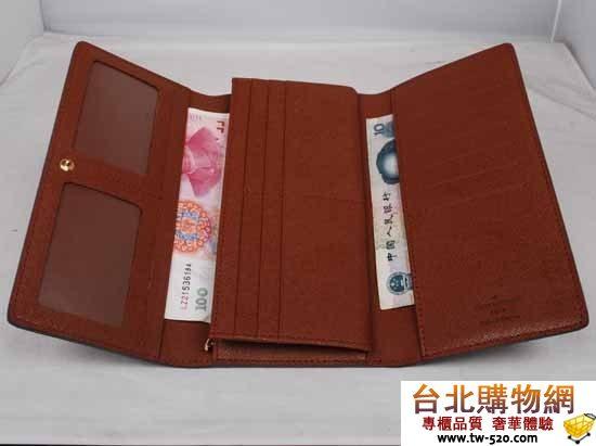 lv m58101 經典老花 帆布系列錢花(頭層牛皮內料)