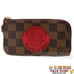 國外限量限定 lv n61741 damier 印花圖騰零錢鑰匙包 (女款)
