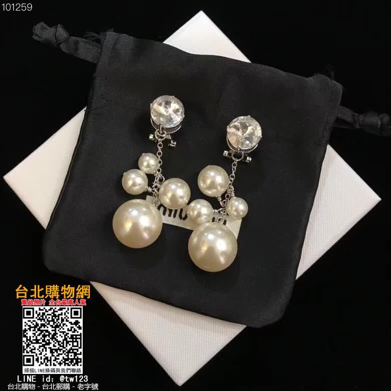 miumiu 2019首飾,miumiu 飾品,miumiu 珠寶!