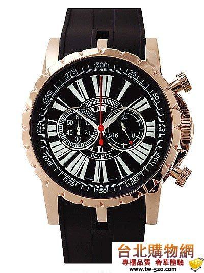 roger dubuis 豪爵 chronograph  2010年新款手錶