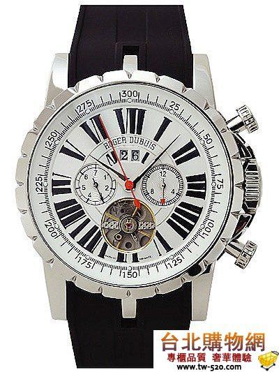 roger dubuis 豪爵 tourbillion chronograph  2010年新款手錶