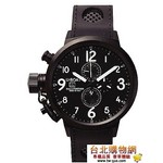 u-boat flightdeck 50mm chronograph 優寶 2010年新款手錶(石英機芯)