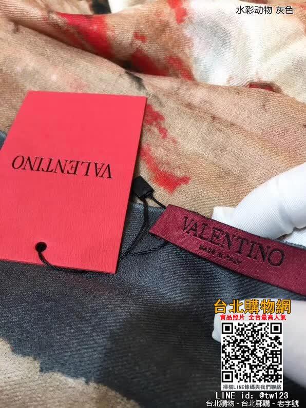valentino 2019圍巾,valentino 絲巾,valentino 圍脖!