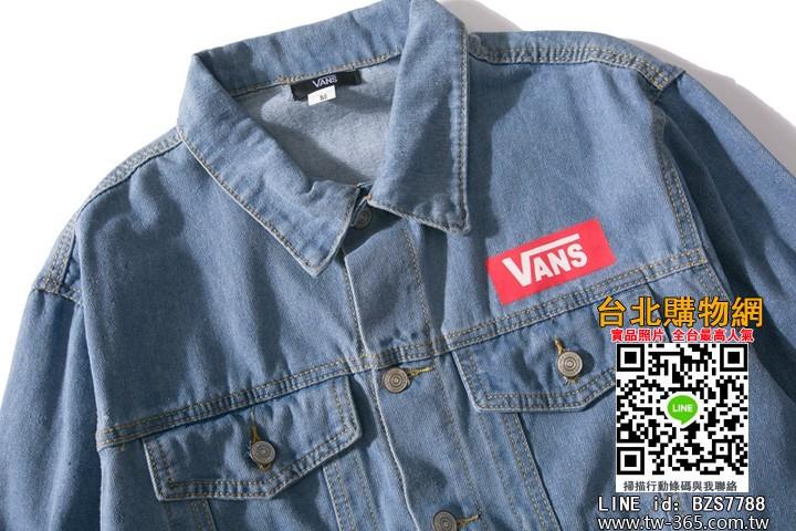vans 2019 牛仔外套,vans 長袖外套,vans 男女均可穿的外套!