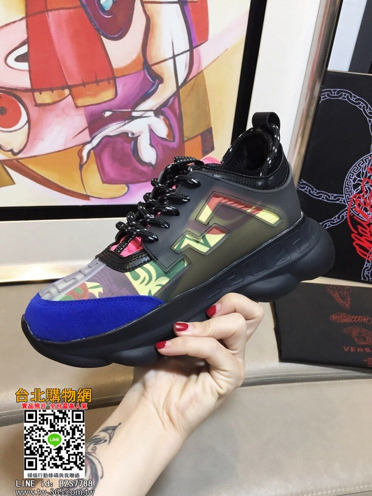 versace 2019新款鞋子,versace 休閒鞋,versace 男款鞋子!