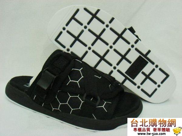 visvim拖鞋系列 黑白蜂窩款 edison專用 08年新款